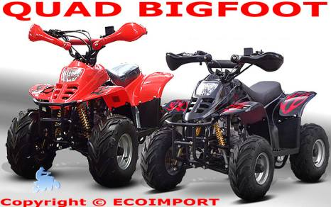 QUAD BIG FOOT BIGFOOT ATV ENFANT 50cc 70cc 90cc 110cc