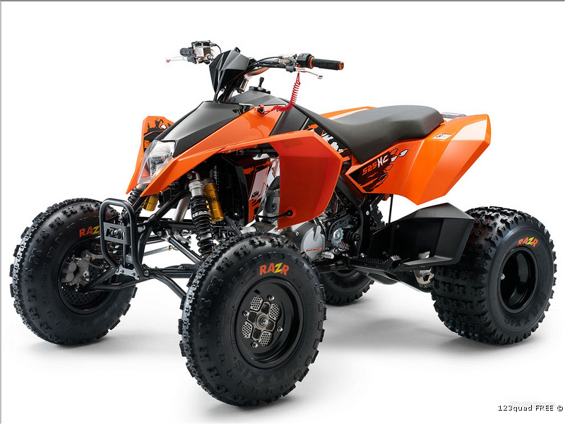 quad big foot ktm homologue route